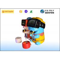 Cheap Lovely Cartoon 10 VR Game Machine For Kids Early Learning CE Approved for sale