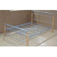 China Metal Double Bed (HF060) on sale