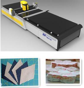 Fabric Software Automatic Cloth Cutting Machine 7 KPS Air Pressure Supply