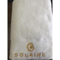 Cheap Hotel luxury cotton bath towel 70x140cm for 5 star hotels for sale