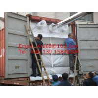 Quality 20ft PP woven dry bulk container liner for PE resin , Easy loading and unloading wholesale