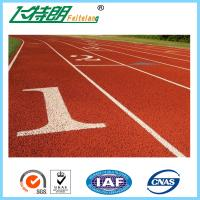 Cheap Standard Athletic Rubber Running Track Flooring For Stadium / Sports Court / Pathway wholesale