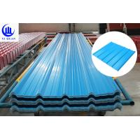 Cheap Economical Waterproof Corrutaged Synthetic Resin PVC Hest Insulation Roof Sheets for sale