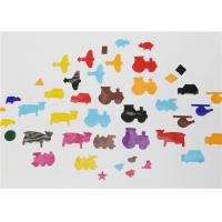 Decorative Animal Shape Gummed Paper Shapes Mixed Size Colour Geometry Art 80GSM