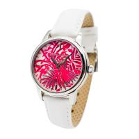 durable womens leather watches white