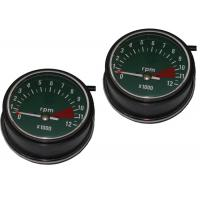 Cheap Copper Wire Motorcycle Speedometer Kit , ABS Motor Gauges For HONDA CG125 76 / 77 for sale
