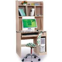 Cheap Wooden Computer Desk, Computer Table with Book Shelf (HQ-888H) for sale