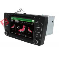 Cheap SKODA Octavia VW Car DVD Player 7 Inch 2 Din Gps Bluetooth Car Stereo With Hand Brake Control for sale