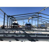 China Large Project Light Steel Structure Warehouse For Construction Site Anti Seismic on sale