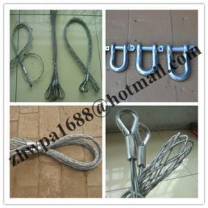 Cheap Cable stockings,Heavy Duty Split Grips,Standard Fiber Optic Pulling Grips for sale
