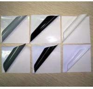 Cheap Black/Grey Glue Self Adhesive vinyl for sale