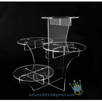 Cheap CD (20) crystal cake stand wholesale