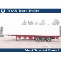 Cheap Professional 30 - 100 ton Utility refrigerated trailer vehicle -28 degrees for sale