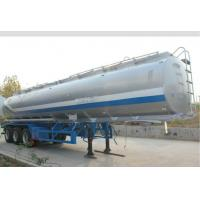 Cheap SS316 Beer Juice Liquid Tank Trailers High Loading Capacity Leaf Spring Suspension, for sale