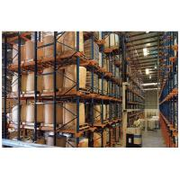 Cheap Adjustable Drive In Pallet Racking System , Pallet Rack Storage Systems For Cold Storage for sale