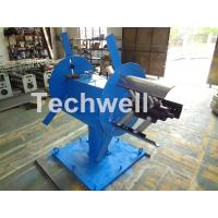 Quality Accessories Of Cold Roll Forming Machine , Manual Double Head Hydraulic Uncoiler wholesale