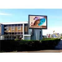 Cheap Large Format Full Color P6 High Resolution Led Billboard Static Advertising Application for sale