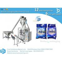 Cheap washing powder weighting packaging machine,automatic detergent powder packing machine from A to Z for sale