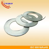 Cr20Ni80 Nichrome Alloy Electrothermal Coil Strip Stable Resistance