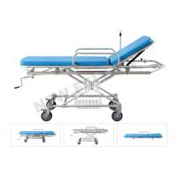 Cheap Aluminum Alloy Detachable Hospital Medical Transfer Patient Stretcher Trolley for sale