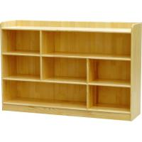 Cheap wooden classroom storage cabinets kids toys shelf book shelf supplier for sale