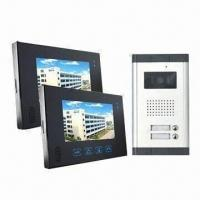Buy cheap 7-inch Touchscreen Video Intercom System with One Camera + Two Monitors from wholesalers