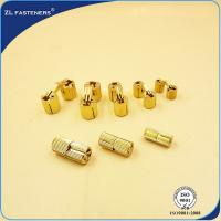 Cheap Various Size Brass Furniture T Nut Invisible M8 / M10 / M12 / M14 / M16 / M18 for sale