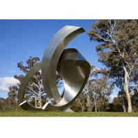 Cheap Garden Large Modern Abstract Stainless Steel Decorative Sculpture for sale