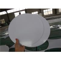 China white color 100% Pure PTFE Sheet with Wear-Resistant skived plastic board on sale