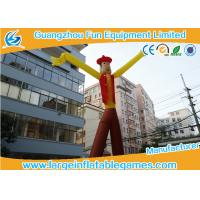 China Cowboy Theme Inflatable Advertising Products Inflatable Sky Dancer  Sky Puppet on sale