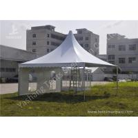 Cheap Extruded Aluminum Alloy Frame Outdoor High Peak Pole Tent Soft PVC Windows wholesale