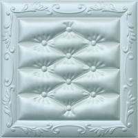 Buy cheap Carved Leather Decorative 3D Wall Panels Fire Resistant Embossed from wholesalers