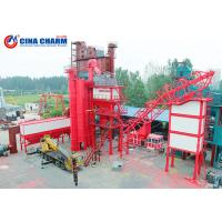 Cheap 100 - 120 Ton Stationary Asphalt Concrete Plant , Double Mobile Asphalt Drum Mix Plant for sale
