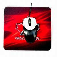 Cheap Mouse Pad, Available in Various Colors and Designs, Suitable for Promotional Purpose for sale