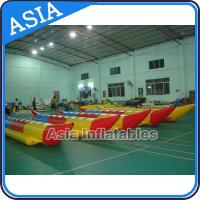Cheap Water Sleds Banana Inflatable Boats Heavy Duty For 6 Passengers Water Games wholesale