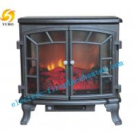 Cheap European Pleasant Hearth 3D Flame Electric Fireplace Stove Heater 50Hz / 60Hz for sale
