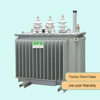 China 500kva 3 Phase Oil Immersed Transformer High Voltage Step Down Distribution Power Transformer on sale