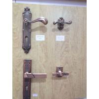 Quality Egypt 5pcs door Locksets ,door levers,door handle and plate,door escutcheon,door rosette handle wholesale