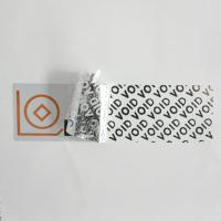 Buy cheap Metalized Foil VOID Security Labels Total - Transfer For Cosmetics Plastic from wholesalers
