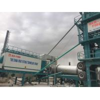Cheap 1500 Model Asphalt Mixing Plant Mobile , Portable Batch Plant With 20T Hot Storage Bin for sale