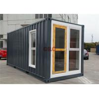 China Durable Furnished Multi - Function Modified Prefab Shipping Container Homes on sale