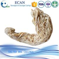 Cheap China 38/40 Caliber Good Quality Natural Hog Sausage Casings,Salted Sausage Casing 40/42 for sale