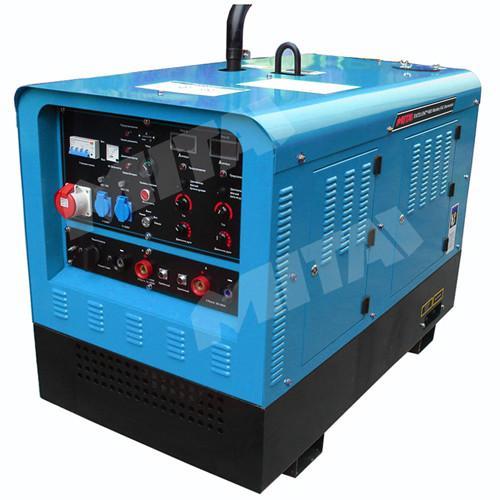 Quality Multi Process Kubota Engine Diesel 400 Amp Welding Generator and Welding Equipment wholesale