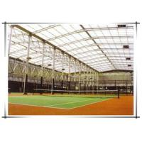 China warehouse color dome steel roof structure building steel structure plans on sale