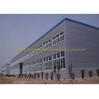 Cheap Multi Storey Steel Structure Workshop Buildings Sandwich Panel Materials for sale