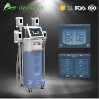 Cheap 4 handles Vertical 2000W Cryolipolysis cold body sculpting machine for sale
