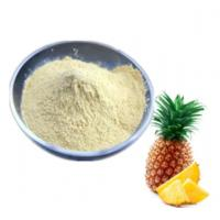 Cheap High Security Bromelain Food Additives Sweeteners Raw Material Thermal Stable for sale