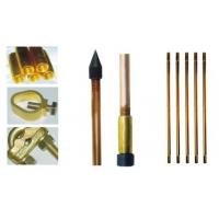 Cheap Anti corrosion 25mm Grounding Electrode , copper bonded earthing rods for sale