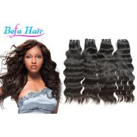 Cheap Soft Smooth Natural Wave Indian Virgin Human Hair wefts 3.3oz-3.5oz / pcs for sale