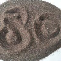 China Sharp Grain Brown Fused Alumina P80 Functional Fillers Corrosion Resistance on sale